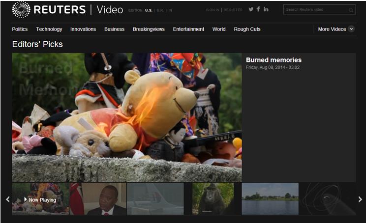 reuters видео агентство